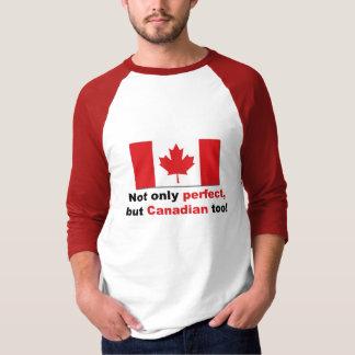 Canadiense perfecto playera