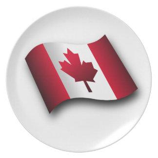 Canadiense Platos