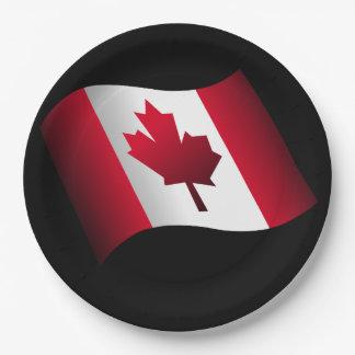 Canadiense Platos De Papel