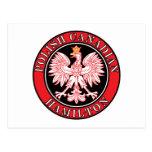 Canadiense polaco Eagle de Hamilton Postal