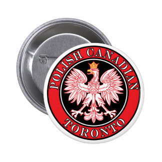 Canadiense polaco Eagle de Toronto Pins
