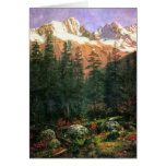 Canadiense Rockies de Albert Bierstadt Tarjetón
