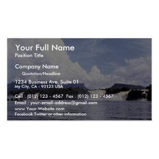 Canaima lagoon Venezuela Business Card Templates
