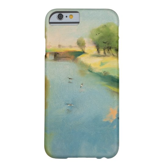 Canal, 1897 (pastel on canvas) barely there iPhone 6 case