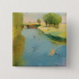 Canal, 1897 (pastel on canvas) button