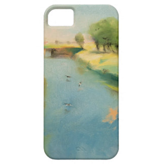 Canal, 1897 (pastel on canvas) iPhone SE/5/5s case