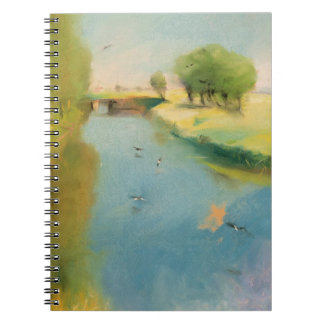Canal, 1897 (pastel on canvas) spiral notebooks