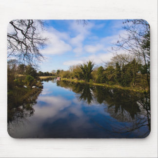 Canal at Kintbury Mouse Pad