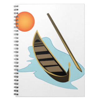 Canal Boat Notebook