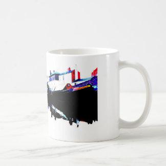 Canal boats at Gas st basin Birmingham Coffee Mug