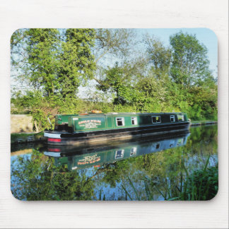 CANAL BOATS MOUSE PAD