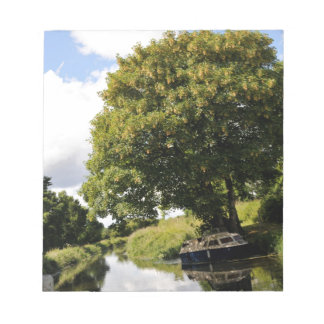 Canal Boats Notepad