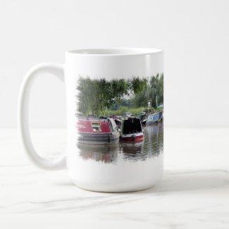 CANAL BOATS UK zazzle_mug