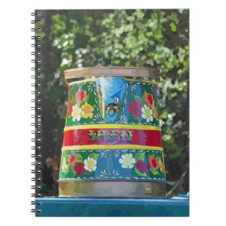 CANAL BOATS UK notebook