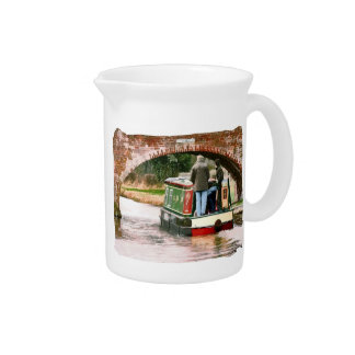 CANAL BOATS UK PITCHER
