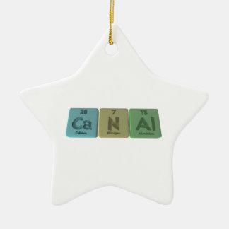 Canal-Ca-N-Al-Calcium-Nitrogen-Aluminium.png Ceramic Ornament