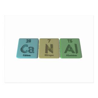 Canal-Ca-N-Al-Calcium-Nitrogen-Aluminium.png Tarjeta Postal