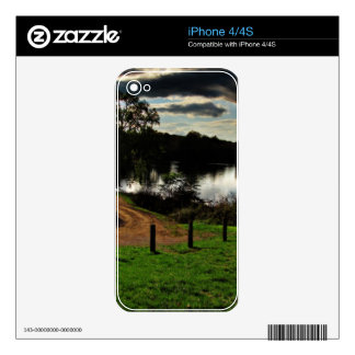 Canal Clouds Decal For The iPhone 4