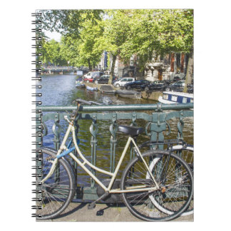 Canal de Amsterdam Cuaderno