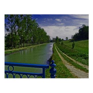 Canal de Borgoña Postal