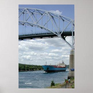 Canal de Cape Cod Poster