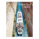 Canal de Corinto, postal de Grecia