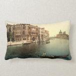 Canal de Grands del vintage Venecia II Almohadas