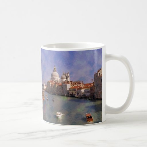 Canal de ImpressiItaly Venecia grande Taza