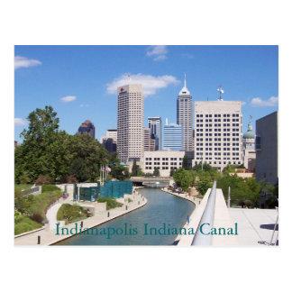 Canal de Indianapolis Indiana Tarjetas Postales