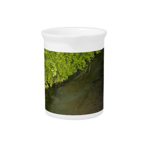 canal de la irrigación jarras para bebida