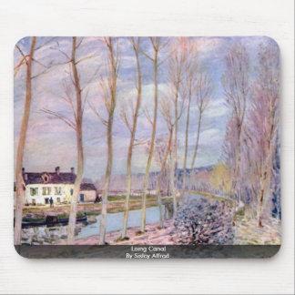 Canal de Loing por Sisley Alfred Tapete De Ratones