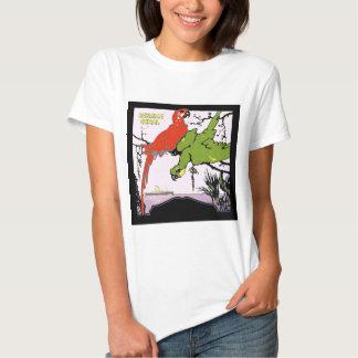 Canal de Panamá del vintage Camisas