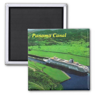 Canal de Panamá Imán Cuadrado