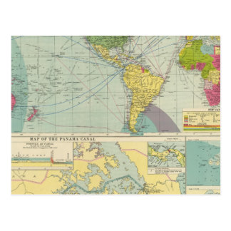 Canal de Panamá Tarjetas Postales