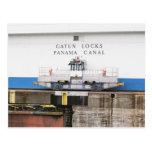 Canal de Panamá Tarjeta Postal