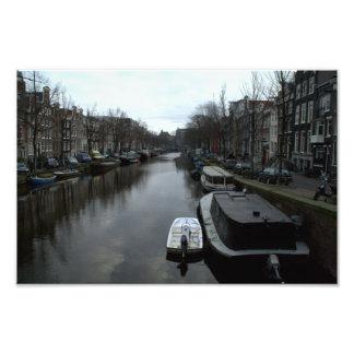 Canal de Prinsengracht, Amsterdam Fotografías