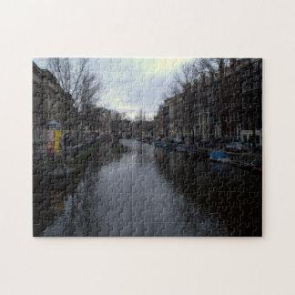 Canal de Prinsengracht, Amsterdam Puzzle Con Fotos