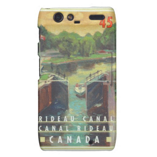 Canal de Rideau Droid RAZR Carcasas