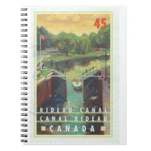 Canal de Rideau Note Book