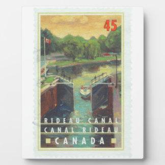 Canal de Rideau Placa De Madera