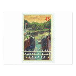 Canal de Rideau Tarjetas Postales