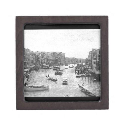 Canal de Venecia Caja De Joyas De Calidad