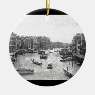 Canal de Venecia Adornos De Navidad