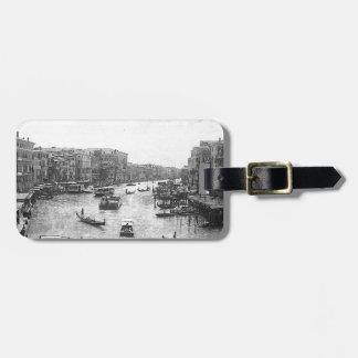 Canal de Venecia Etiquetas Para Maletas