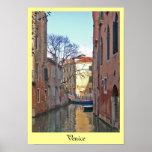 Canal de Venecia Impresiones
