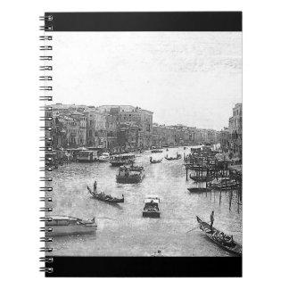 Canal de Venecia Cuaderno