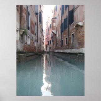 Canal de Venecia Posters