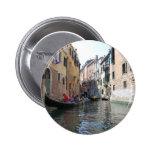 Canal de Venecia Pin Redondo De 2 Pulgadas