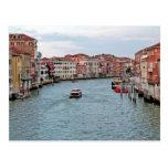 Canal de Venecia Postal