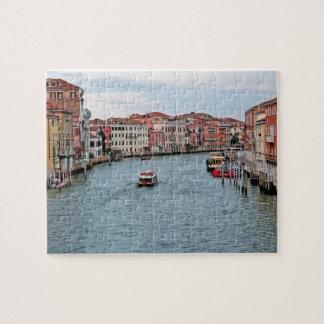 Canal de Venecia Rompecabezas Con Fotos
